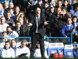 Chelsea boss Rafa Benitez on the touchline during the FA Cup 4th round replay against Brentford on February 17, 2013