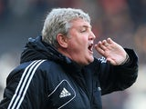 Hull City boss Steve Bruce during the match against Charlton on February 16, 2013