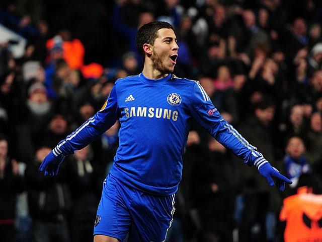 Result: Hazard goal sees Chelsea through