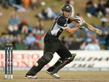 New Zealand's Martin Guptill in action during the ICC Champions Trophy final against Australia on October 5, 2009