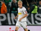 Borussia Monchengladbach forward Mike Hanke during his side's game against Marseille on November 8, 2012