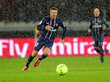 David Beckham playing for Paris Saint-Germain on February 24, 2013