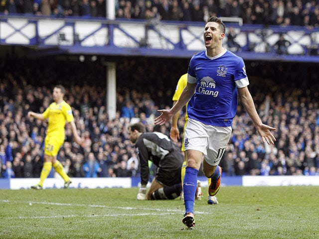 Result: Everton cruise to victory