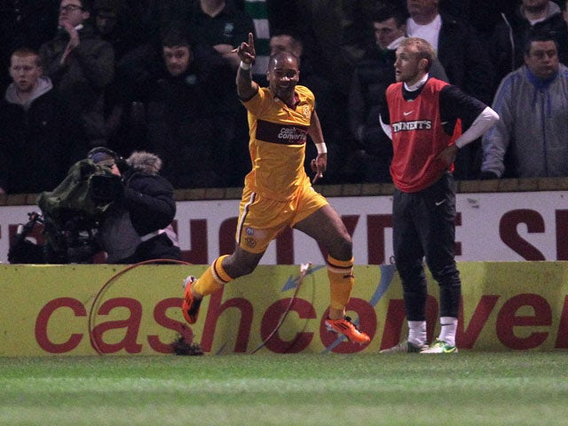 Result: First-half goals secure Motherwell win