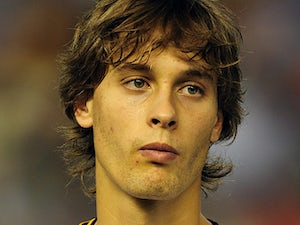 Valencia's Sergio Canales on September 21, 2011