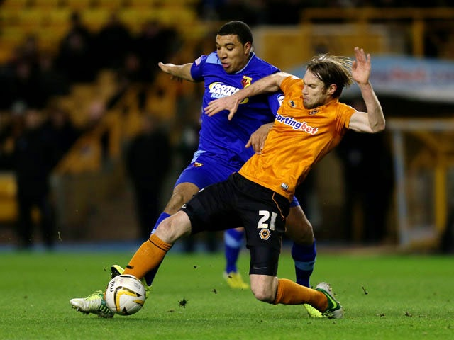 Result: Late Wolves earn Watford draw