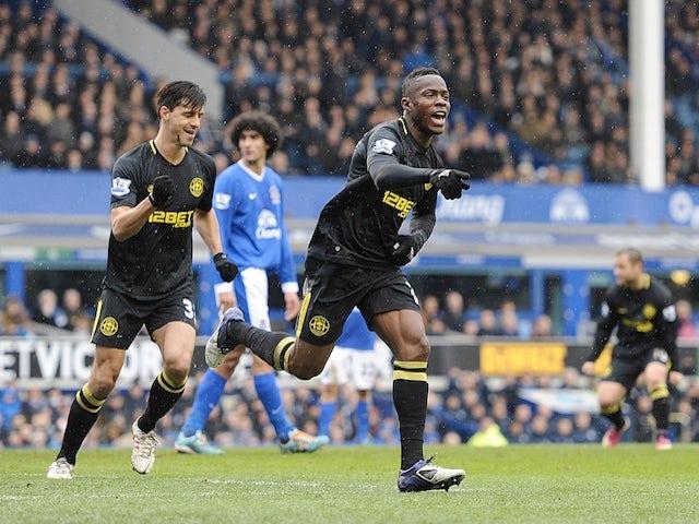 Result: Wigan stun Everton to reach semi-finals