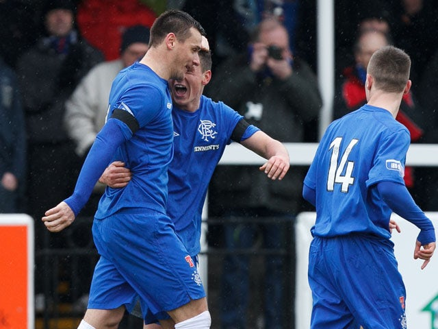 Result: Second-half goals seal win for Rangers