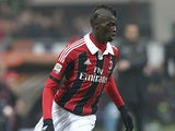 AC Milan's M'Baye Niang in action on January 20, 2013