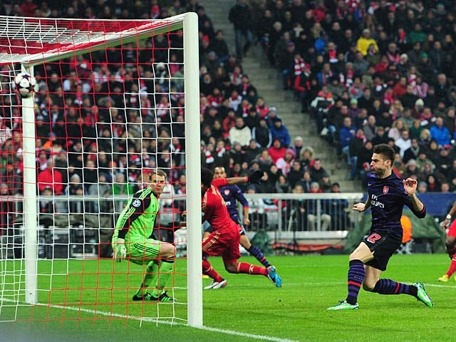 Result: Arsenal out despite victory over Bayern