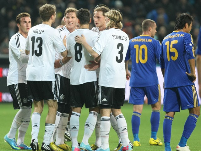 Result: Germany ease past Kazakhstan