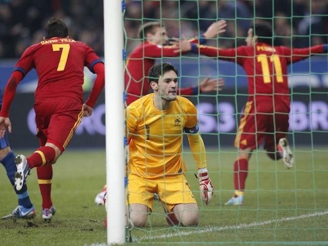 Result: Pedro strike downs 10-man France