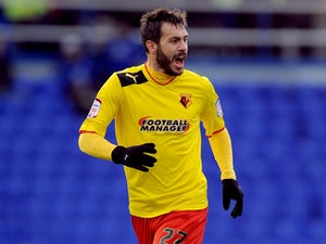 Watford's Marco Cassetti during his side's Championship match against Birmingham on February 16, 2013