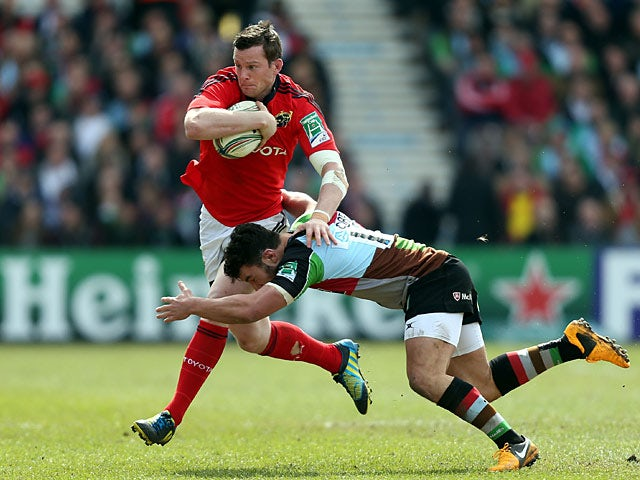 Result: Munster knock Harlequins out of Heineken Cup