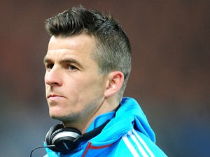 Marseille's Joey Barton before his side's match against PSG on February 27, 2013