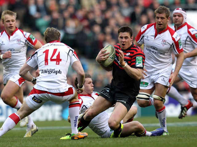 Result: Saracens comfortably see off Ulster