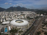 Brazil's Maracana Stadium, photographed on April 11, 2013