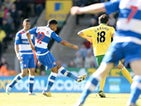 Reading's Garath McCleary pulls one back against Norwich on April 20, 2013