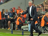 Bayern head coach Jupp Heynckes gestures from the sideline during the Champions League match with FC Barcelona on April 23, 2013