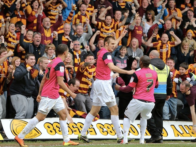 Result: Bradford reach League Two playoff final