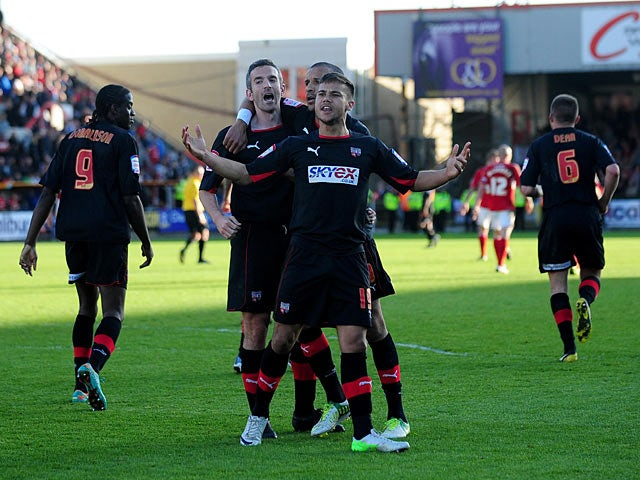 Result: Late penalty denies Swindon