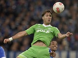 Wolfsburg's Srdjan Lakic during the match against Schalke on October 6, 2013