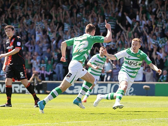 Result: Ed Upson sends Yeovil to Wembley