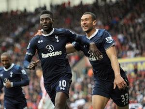 Adebayor heading for Tottenham exit?