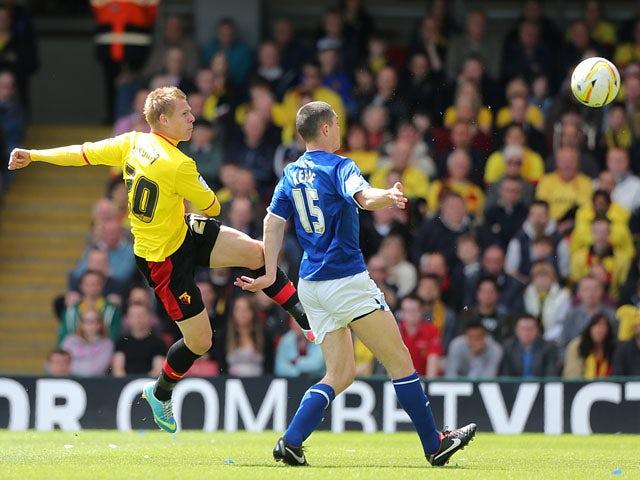 Result: Last-gasp goal sends Watford to Wembley