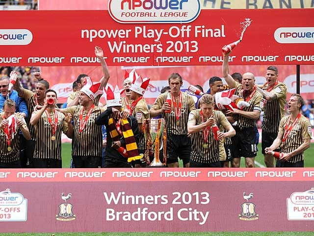 Result: Bradford win League Two playoffs