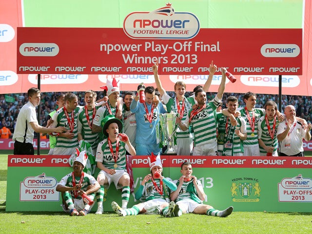 Result: Yeovil promoted to Championship