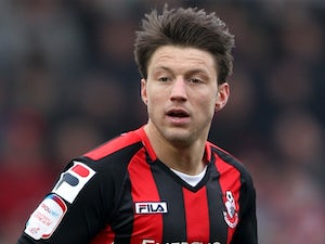 Bournemouth's Harry Arter in action against Bury on March 23, 2013