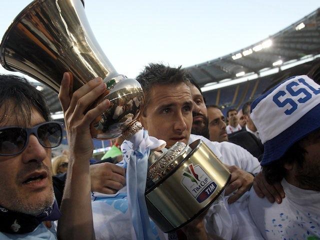 Result: Lazio beat Roma to win Coppa Italia