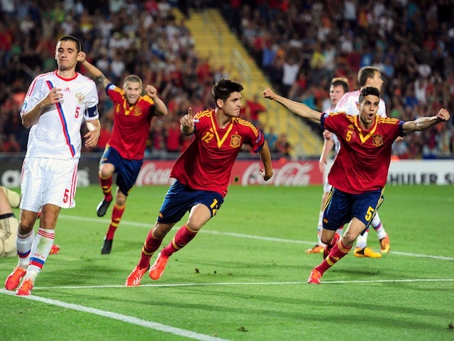 Result: Spain see off Russia