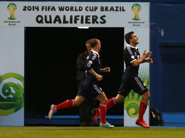 Result: Scotland victorious in Zagreb