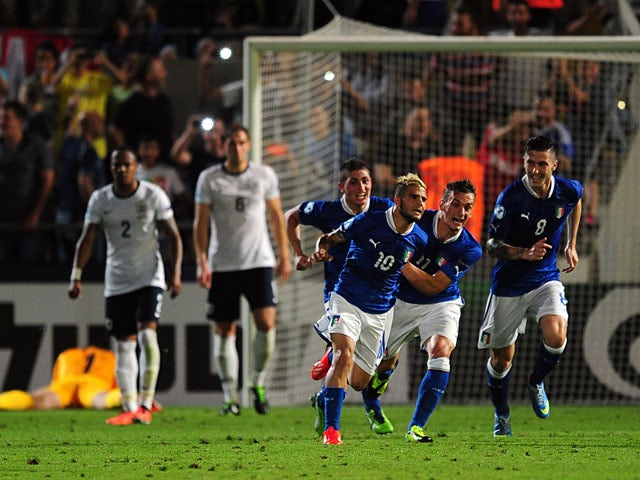 Result: Insigne goal condemns England to defeat