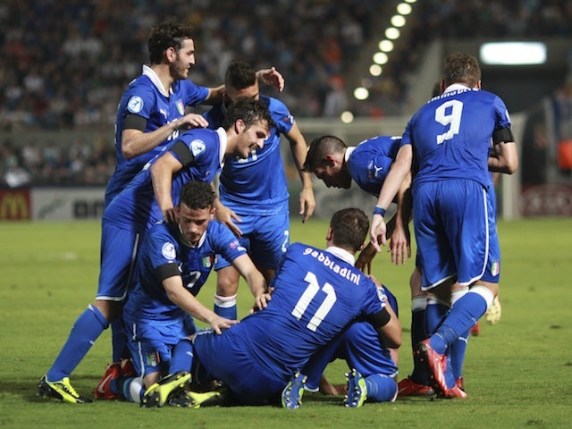 Result: Italy thrash Israel to qualify