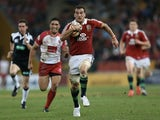 British & Lions captain Sam Warburton in action against Queensland on June 8, 2013
