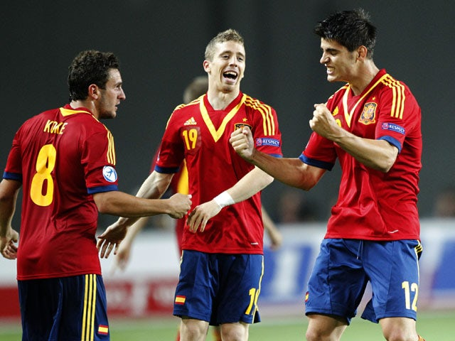 Result: Morata strike ensures Spain progress