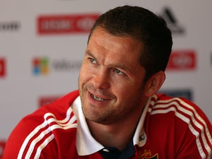 British and Irish Lions' defence coach Andy Farrell during an interview on May 31, 2013