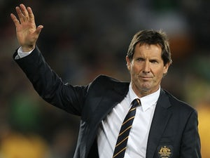 Australia rugby coach Robbie Deans on May 23, 2013