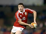 Lions' Brian O'Driscoll in action against NSW on June 11, 2013