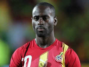 Ghana's Quincy Owusu-Abeyie during the match against Nigeria on October 11, 2011