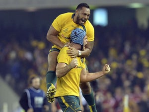 Result: Aussies earn late win over Lions