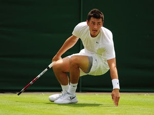 Result: Tomic battles past Querrey into second round
