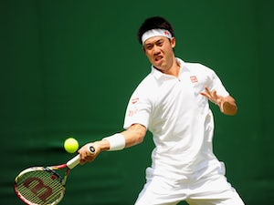 Result: Nishikori moves into second round