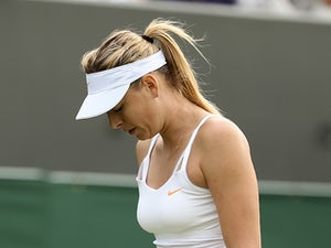 Result: Sharapova sent packing in second round