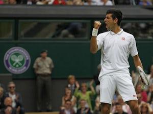 Live Commentary: Djokovic vs. Reynolds - as it happened