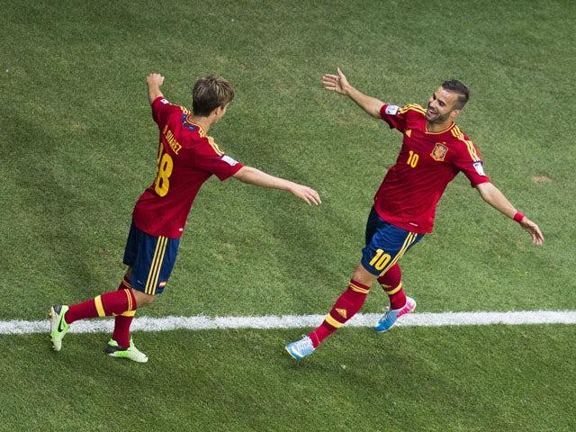 Result: Spain beat Ghana to progress