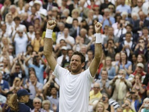 Result: Del Potro through to Wimbledon semis